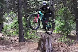 Video: Dirt Jump Session & Trail Bike Laps with Cam McCaul