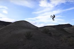 Video: Cam McCaul and Dusty Wygle Rebuild and Test a 52 Foot Jump in the Desert