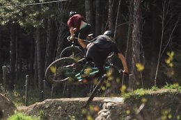 Video: Sessioning Backyard Dirt Jumps with Finn Iles in the Kootenays