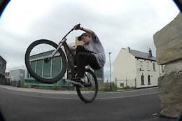 Video: Brakeless Street Riding through the Steel City