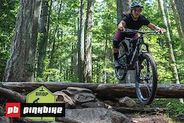 Video: Sending Mountain Bike Drops with Christina Chappetta - What You Need To Know