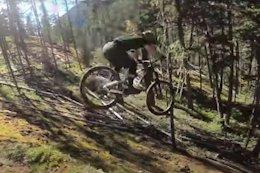 Video: Yoann Barelli Guinea Pigs a 30 Foot Step Down on His Trail Bike
