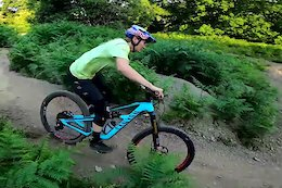 Video: Tahnée Seagrave Returns to Riding After Her Ankle Injury