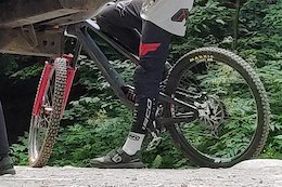Spotted: Does Norco's New DH Bike Use Flex Stays?