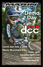 Marin Demo Days at Dodge City Cycles - Cumberland BC