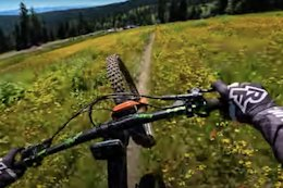 Video: High Speed Line Scoping POV from Jesse Melamed - Crankworx Summer Series
