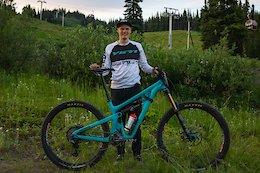 Bike Check: Kasper Woolley's Yeti SB150 - Crankworx Summer Series 2020