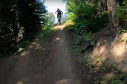 Video: Flowing Through the 18 Jumps of the Silver Star Air DH Course - Crankworx Summer Series