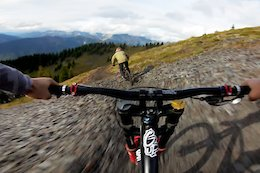 Video: Thomas Vanderham & Veronique Sandler Ride a Steep and Rugged Trail in Retallack, BC