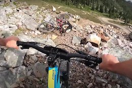 Video: Janky, Rocky Stages Await Riders at the Kicking Horse Enduro - Crankworx Summer Series