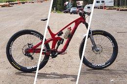 Bike Check: Rhys Verner's 3 Bikes of Crankworx Summer Series