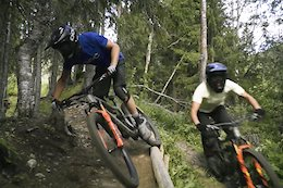 Video: Robin Wallner Goes on a Family Ride in the Åre Bike Park