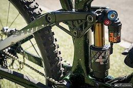 Bike Check: Greg Callaghan's Devinci Spartan - EWS Zermatt 2020