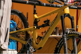 Spotted: Nukeproof's New Enduro Bike Finally Has Room for a Water Bottle - EWS Zermatt 2020