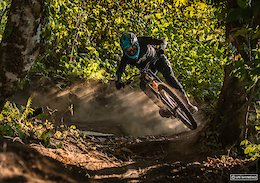 Raw Video: Russian Freerider Hits Bike Park Gaps