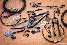 Bike Check: Florian Nicolai's Trek Slash Component by Component