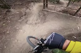 POV Video: Wyn Masters Rips 10 Minutes of DH Track from Pila to Aosta