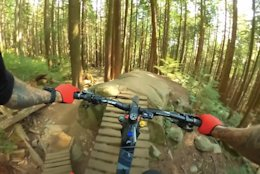 Video: Geoff Gulevich's Express eMTB Lap On the North Shore's Expresso