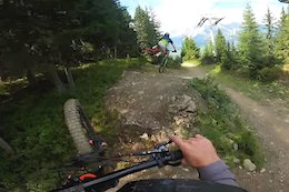 Video: Danny Hart Gets Loose on Steep Schladming Trails