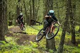 Video & Photo Story: Micayla Gatto and Hailey Elise Shred Natural Trails at Williams Lake