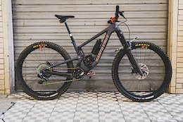 Bike Check: Iago Garay's Santa Cruz Megatower - EWS Pietra Ligure 2020