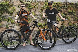 Bike Checks: Comparing Jesse Melamed & Remi Gauvin's Rocky Mountain Altitudes - EWS Pietra Ligure 2020