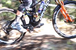 Spotted: Greg Callaghan is Riding a New Devinci Enduro Bike in Finale Ligure