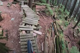 Video: Geoff Gulevich Rides Dilapidated North Shore Skinny Trails on his eMTB