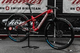 Bike Check: Mathias Flueckiger's Thomus Lightrider WC - Nove Mesto World Cup XC 2020