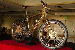 That 24k Gold Plated Fat Bike is Back on Sale for $1 Million USD for Charity