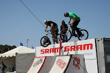 Kyle Strait Wins SRAM Dual Stunt At Sea Otter