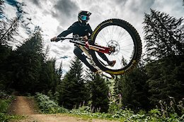 Video: Vinny T Hits Huge Gaps in Late Season Conditions at Châtel Bikepark