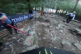 Video: Luca Shaw's Maribor POV Course Preview