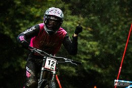 Qualifying Photo Epic: The Essence of Wetness - Maribor DH World Cup 2020 Round 1
