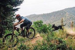 Video: Shredding Dusty Trails with Luna The Trail Dog