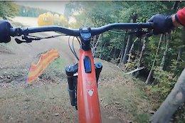 Video: Claudio Caluori Rides the Maribor World Cup Warm Up Trail