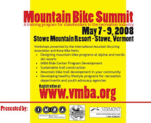 The 2008 Vermont Mountain Bike Summit