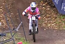 What Was Loic Bruni Adjusting on His Fork in Lousa?