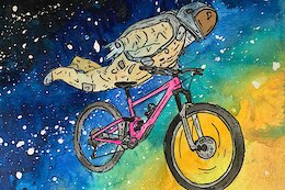 A Cacophony of Whimsical Bike Illustrations