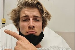 Fabio Wibmer Injures Foot While Riding Motocross