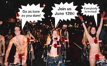 World Naked Bike Ride - June 12, 2004