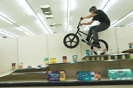 Video: Creative BMX Riding in a Grocery Store in Tate Roskelley's 'Shelf Space'