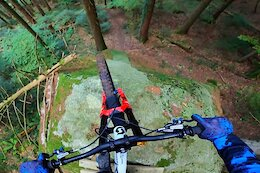 Video: Vinny T Gets Loose on his Home Trails