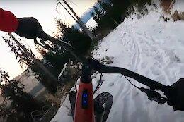 Video: Claudio Caluori Gets Sketchy in the Snow on his Latest BlaBla Run