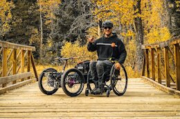 Bike Check: Cole Bernier's Bowhead Reach 3-Wheeled Adaptive eMTB
