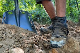 Get Dirty Design Launch Gaiters for Trail Builders