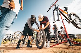 Silver Stallion Bikes Repairs Bikes for Free on Navajo Nation