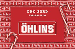Enter to Win An Öhlins Rear Shock - Pinkbike's Advent Calendar Giveaway