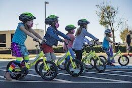 Kialani Hines, Eliot Jackson, Austin Warren & Brian Lopes Introduce Kids to Cycling