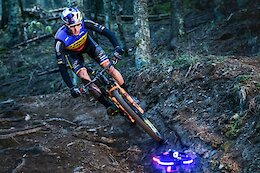 Video: World Cup XC Racer Vlad Dascalu Chases a Racing Drone